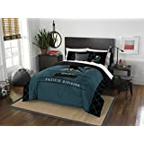Officially Licensed NHL Twin or Full/Queen Comforter and Sham Set