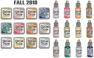 3rd RELEASE Jan 2018-12 New Colors Reinkers BUNDLE Tim Holtz Distress Oxide Ink Pads Ranger Ink -