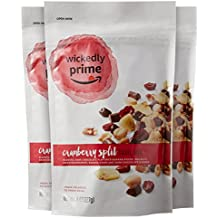 Wickedly Prime Trail Mix, Cranberry Split, 8 Ounce (Pack of 3)