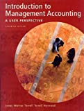 img - for Introduction to Management Accounting: A User Perspective Canadian Edition by Kumen H. Jones (2002-12-16) book / textbook / text book