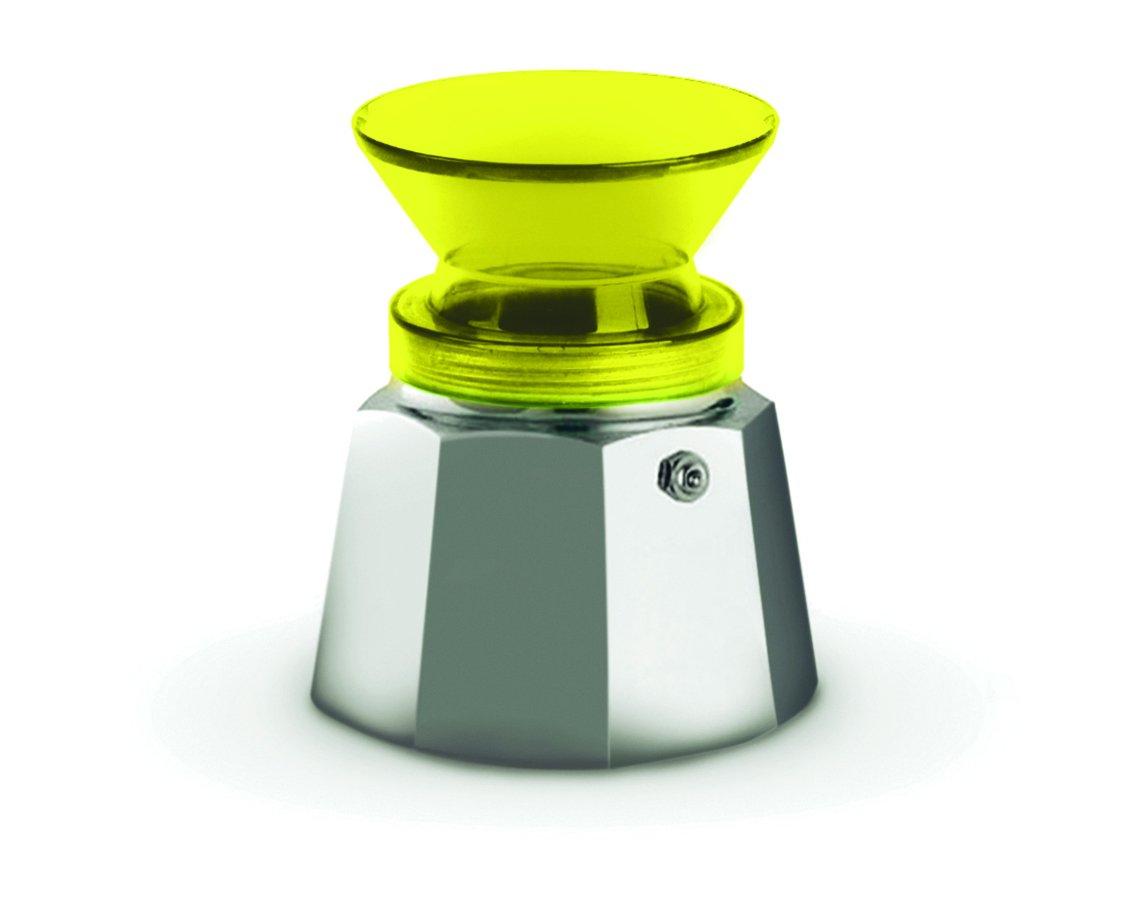 Amarillo hasta a 2/Tazas Pusher kafferino Embudo para caf/é pl/ástico