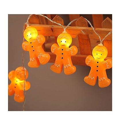 Amazon Com Jieson Christmas Gingerbread Men String