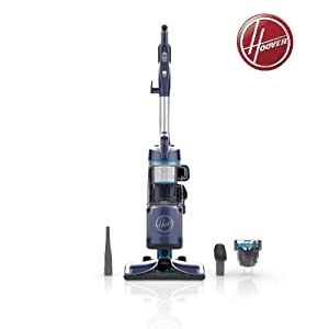 Hoover. React Powered Reach Lite Bagless Upright Vacuum, Model UH73400
