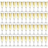 Rink Drink Plastic Outdoor Champagne Flutes - Pack Of 48
