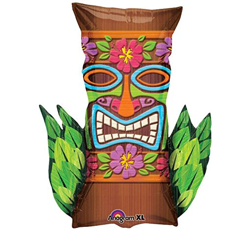 Mayflower Products Tiki Time Shape Foil Balloon -