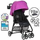 Zoe XL1 Lightweight Umbrella Stroller System - Eloise Plum