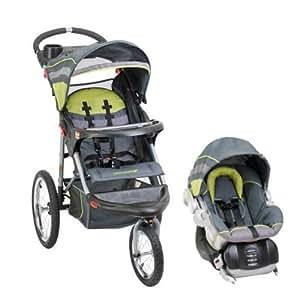 Amazon.com : Baby Trend Expedition Swivel Jogging Stroller ...