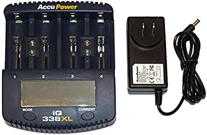 accupower chargeur universel iq338xl