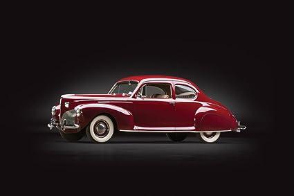 Amazon Com Lincoln Zephyr Club Coupe 1940 Car Print On 10 Mil