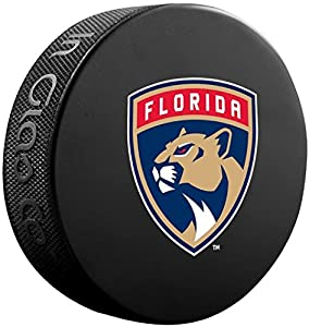Florida Panthers Sher-Wood NHL Official Basic Souvenir Hockey Puck