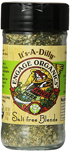 Engage Organics Spices, It's-a-Dilly, 2.36 Ounce