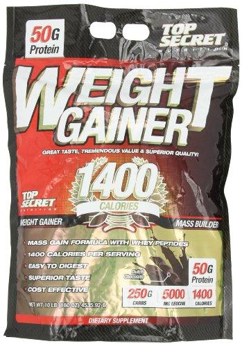 Top Secret Nutrition Weight Gainer 1400 poudre, chocolat hollandais, £ 10.