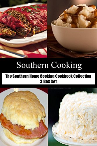 The Southern Home Cooking Cookbook Collection 3 Box Set by [Leonard, Cheryl]