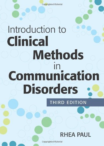 Intro.To Clin.Methods In Comm.Disorders