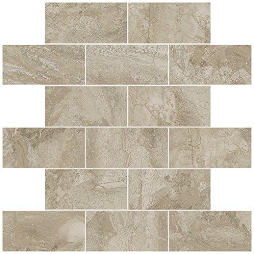 (Dal-Tile 24BJMS1P2-MA42 Marble Falls Tile, 2