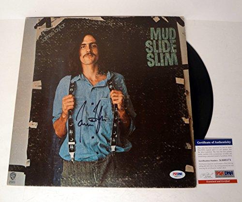 James Taylor Signed Autograph Mud Slide Slim Vinyl Record Album PSA/DNA COA