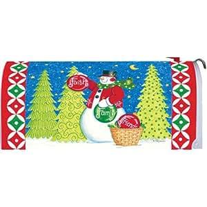 Custom Decor Mailbox Makeover-Inspirational Ornaments