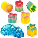 Mini Molle Multicolore (confezione da 6)