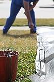 Ashman Galvanized Garden Stakes Landscape Staples