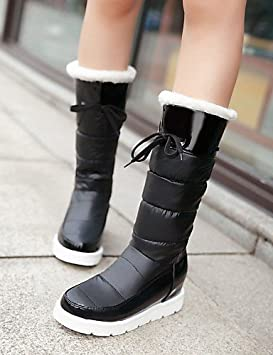 Mujer Botines Zapatos – Botas – Mujer vestido/LÄSSIG – Barniz cuero/de piel