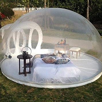 Jkl000-tent Carpa de Burbujas Inflable Creativa 1-2 Personas ...