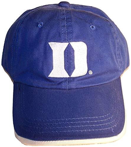Duke University Blue Devils D Logo Blue Baseball Ball Cap Hat Adjustable