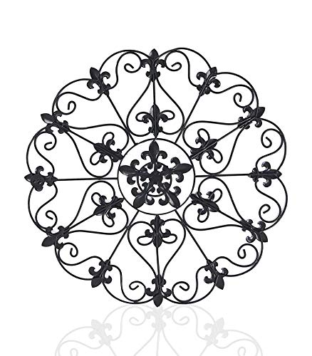 - Iron Wall Medallion - Authentic Wall Decor (Single Round)