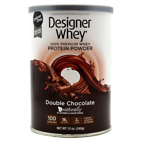 Designer Protein, Designer Whey Protein, double chocolat, 12,7 oz