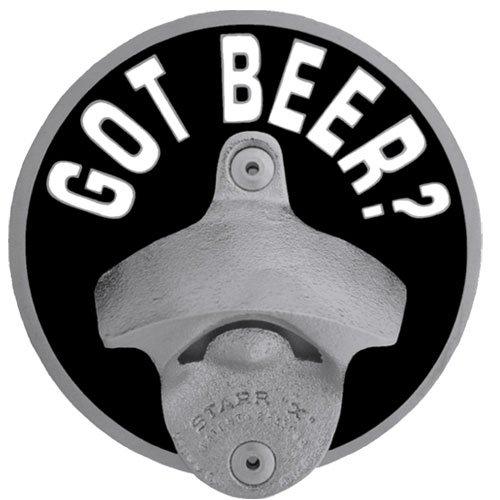 Hitch Bottle Opener (Siskiyou STH260TG Got Beer Bottle Opener Hitch Cover)