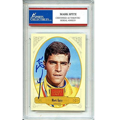 Mark Spitz Autographed Signed 2012 Panini Golden Age Trading Card - Certified Authentic
