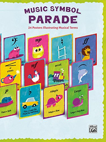 (Alfred Music Symbol Parade 24-Poster Set)