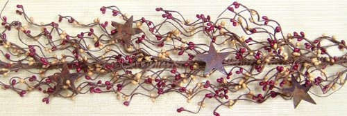 Burgundy Pip Berry Garland (Burgundy/Old Gold Pip Berry Garland)