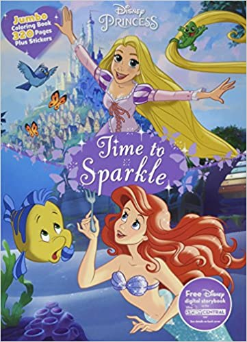 Disney Princess Jumbo Coloring Parragon Books Ltd 9781474837637