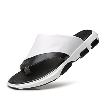 6e6504c61670 Image Unavailable. Image not available for. Color  Men Beach Slippers Summer  New Leisure Outdoor Non-slip Flip Flops Men s Comfort Breathable