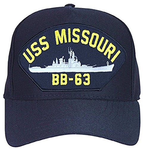 Eagle Crest USS Missouri BB-63 Navy Ship Cap Hat (Uss Bb Missouri)