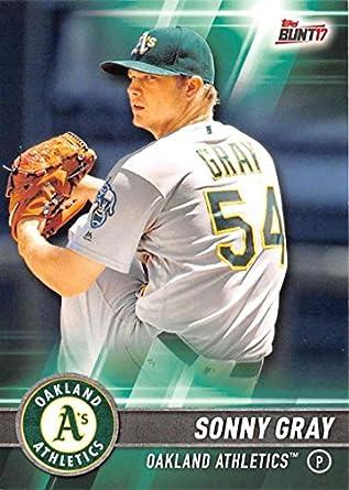 half off 12a6f ae6b1 2017 Bowman Chrome #10 Sonny Gray Oakland Athletics Baseball ...