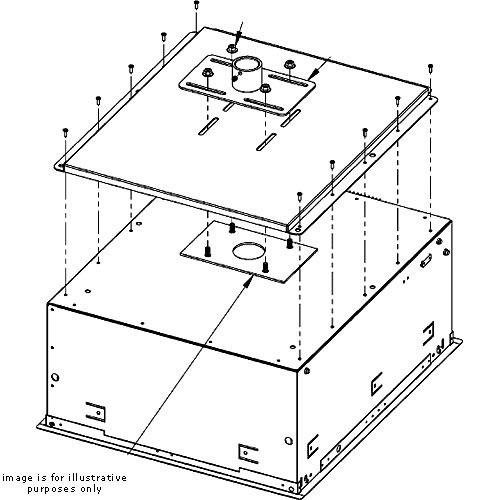 (Chief SMA601 Smart-Lift Mounting Plate for Projector Smart-Lift SL150 and SL236)