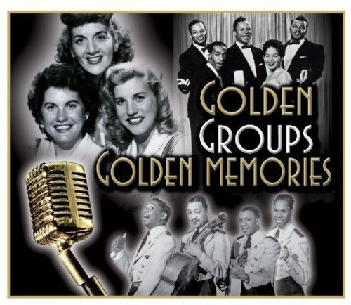 CD : Various Artists - Golden Groups Golden Memories / Various (United Kingdom - Import, 3PC)