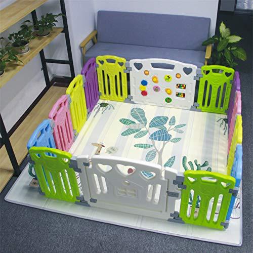 Gupamiga 14-Panel Classic Set Baby Play Centre, Multicolour