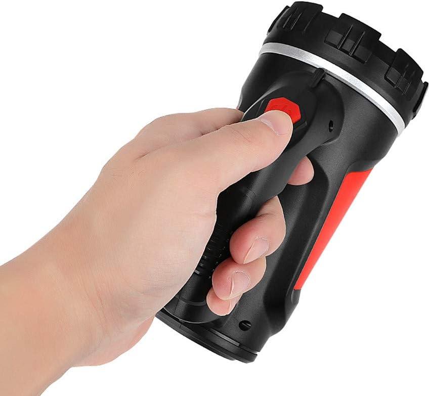 Handheld Scheinwerfer Hochleistungs Super Bright /& Wasserdicht /& 3 Modi LED Handscheinwerfer Suchscheinwerfer Handscheinwerfer LED Aufladbar Notfallleuchte f/ür Camping Akku-Version, Gr/ün Wandern