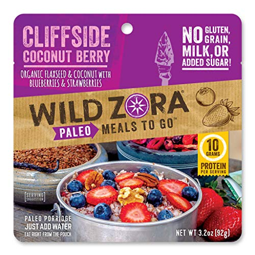Wild Zora - Cliffside Coconut Berry - Paleo Meals to Go (single)