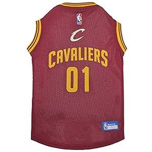 NBA CLEVELAND CAVALIERS DOG Jersey, Medium - Tank Top Basketball Pet Jersey