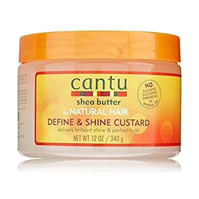 Cantu Shea Butter for Natural Hair Curling Custard 12oz