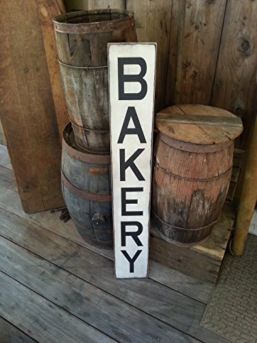 Bakery Wooden Sign Farmhouse Dcor Farmhouse Sign Fixer Upper Inspired Wood Sign Bakery Sign Primitive Sign Rustic Shabby Chic