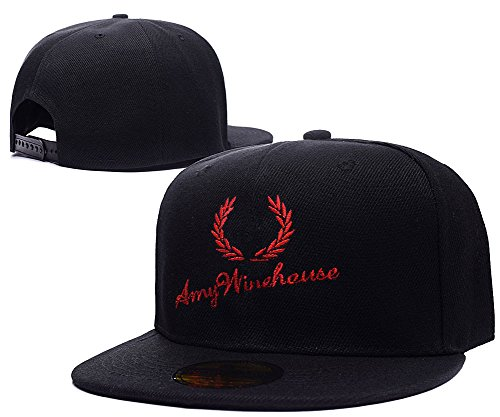 BARONL Amy Winehouse AMY Logo Adjustable Snapback Embroidery Caps Hats