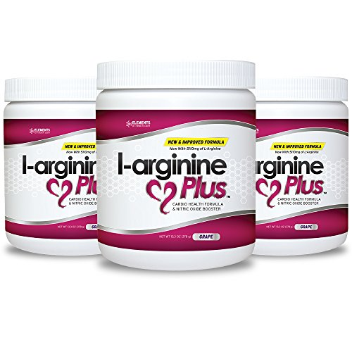 L-arginine Plus ® - The Most Effective L-arginine Product on the Market with 5110mg L-arginine & 1010mg L-citrulline - Buy 3 and SAVE (Net Wt 13.4OZ)