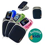 Navitech Blue Water Resistant, Child Resistant, Hard Case Cover For The VTech Kidizoom Smartwatch