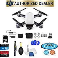 DJI Spark Fly More Combo (Alpine White) Best Accessory Basic Bundle Package Deal