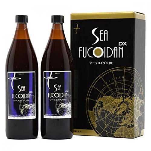 Sea Fucoidan DX 900 ml × 2 bottles by Sea Fucoidan