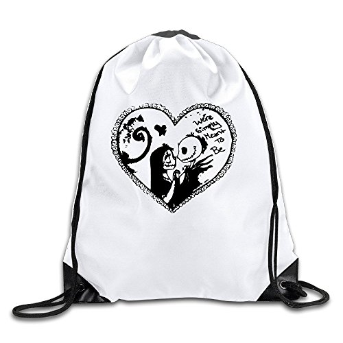 FOODE Simply Meant To Be Drawstring Backpack Sack Bag